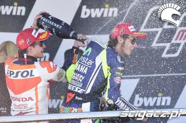 Swietowanie motogp Jerez 2014