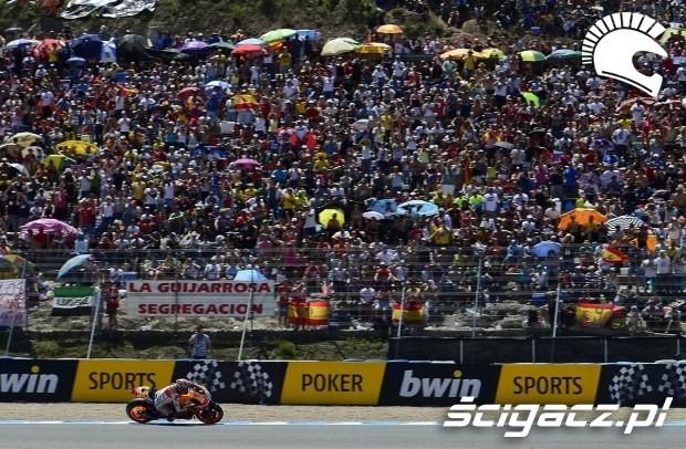 Trybuny motogp Jerez 2014