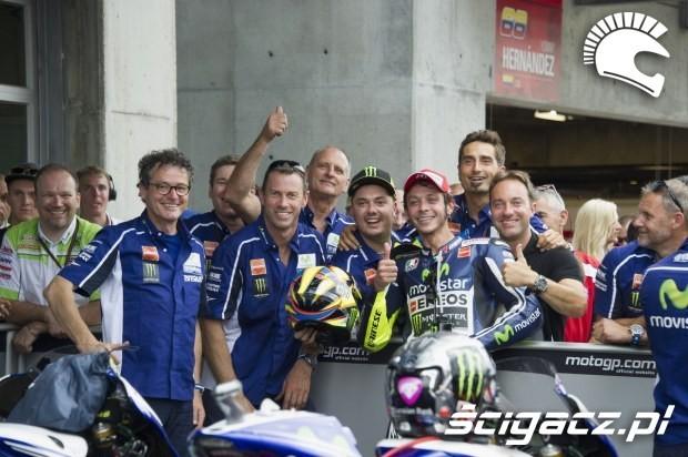 Yamaha team motogp indianapolis