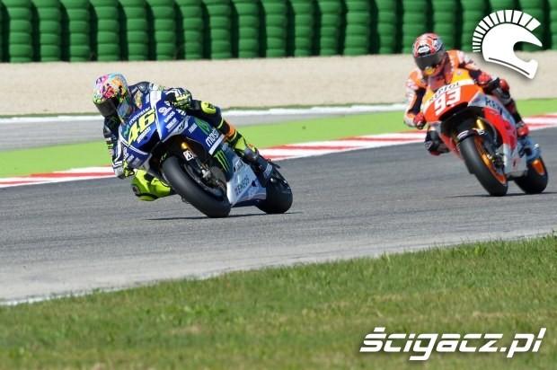 Rossi Marquez misano motogp 2014