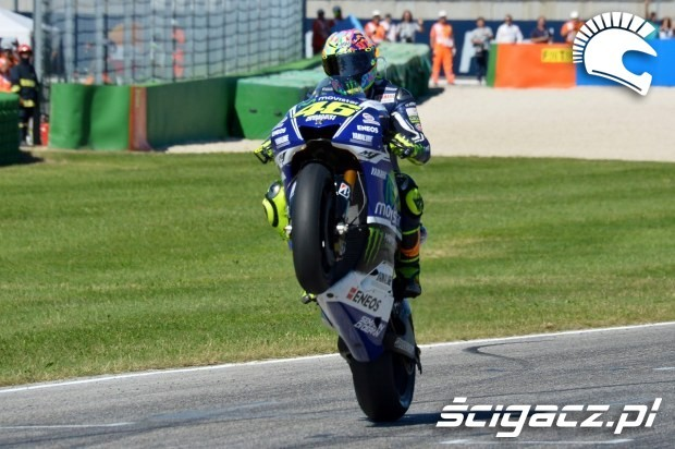Rossi krolem misano motogp 2014