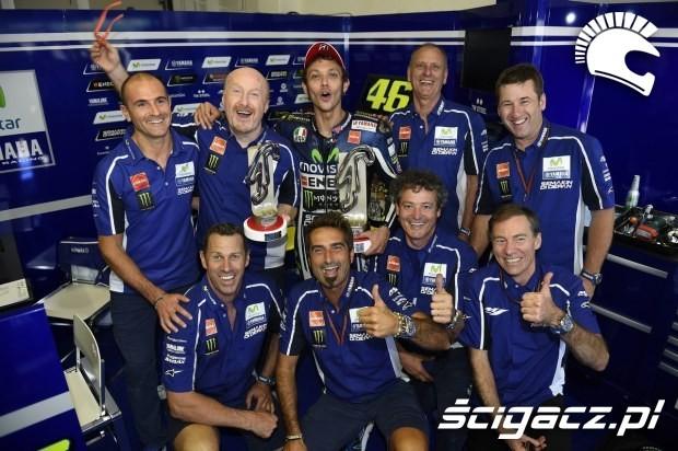 Rossi team misano motogp 2014