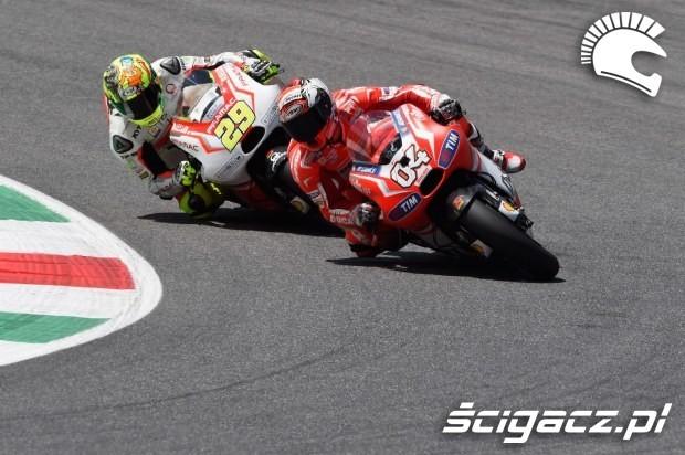 Dovizioso i Iannone MotoGP Mugello
