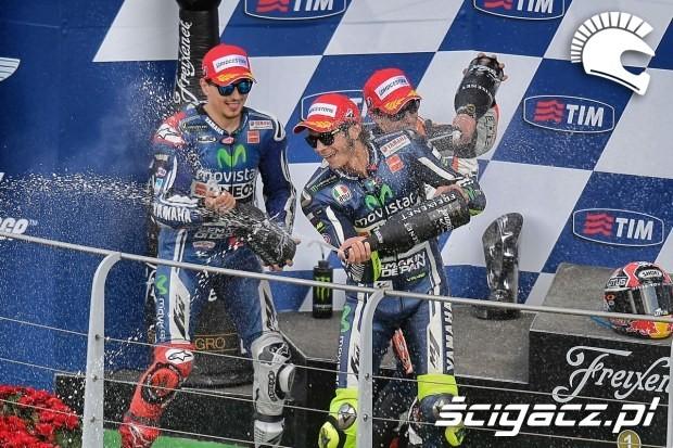 Kierowcy Yamahy MotoGP Mugello