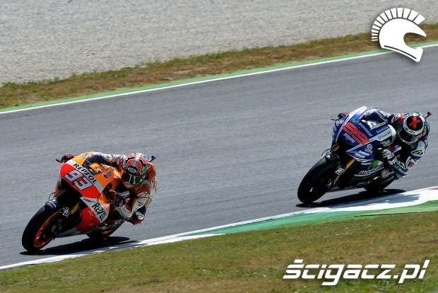 Marquez i Lorenzo MotoGP Mugello
