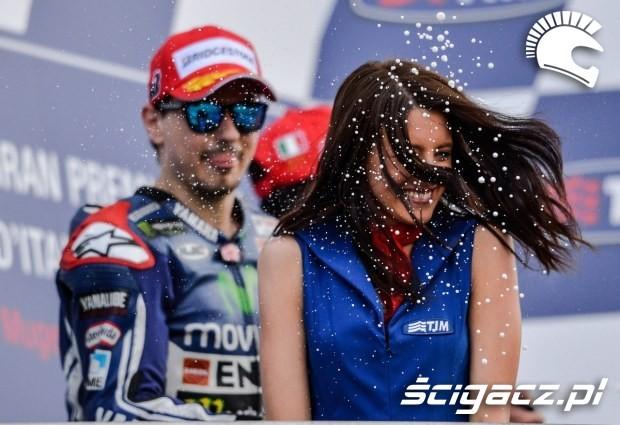 Na podium MotoGP Mugello
