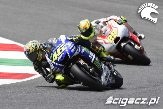 Rossi i Iannone MotoGP Mugello