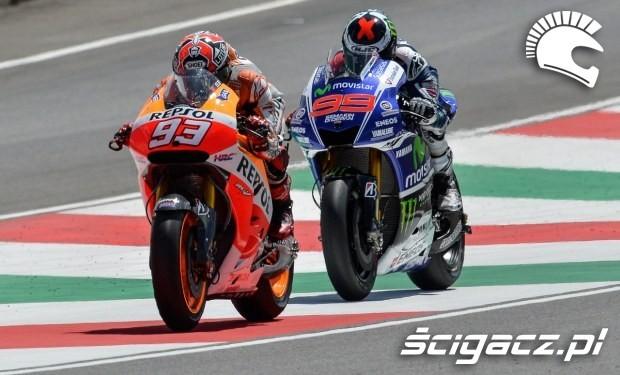 Rywalizacja MotoGP Mugello