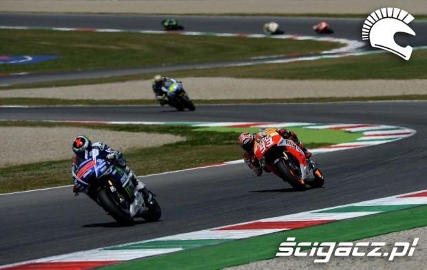 Zakrety MotoGP Mugello