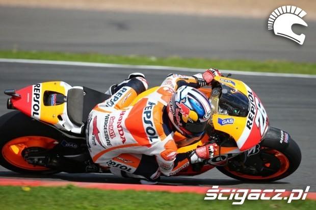 Dani Pedrosa motogp silverstone 2014