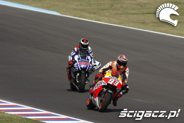 Jorge Lorenzo i Marc Marquez motogp argentina 8