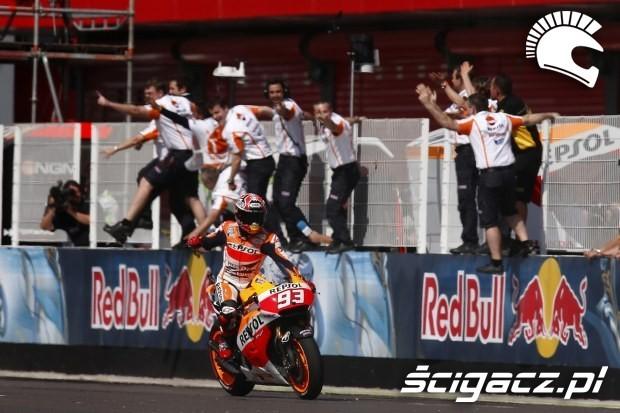 Marc Marquez swietuje motogp argentyna