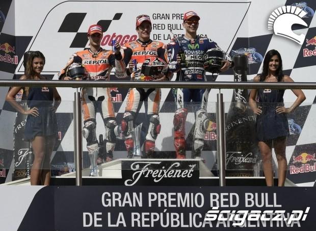 podium zawodow motogp argentyna