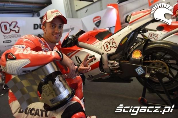 Andrea Dovizioso MotoGP Assen