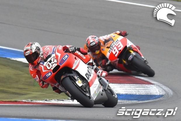 Dovizioso Marquez MotoGP Assen