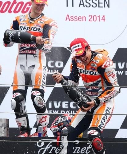 radosc MotoGP Assen
