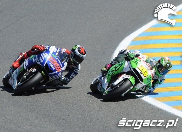 Bautista i Lorenzo motogp le mans 2014