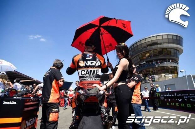 Colin Edwards motogp le mans 2014
