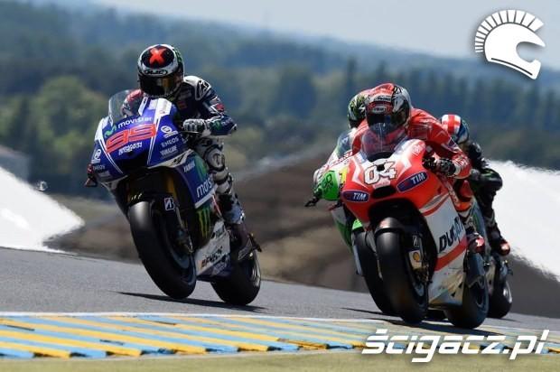Lorenzo i Dovizioso motogp le mans 2014