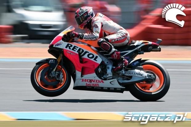 Marc Marquez motogp le mans 2014