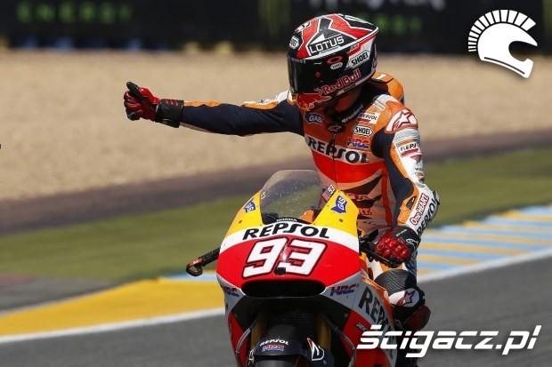 Marquez motogp le mans