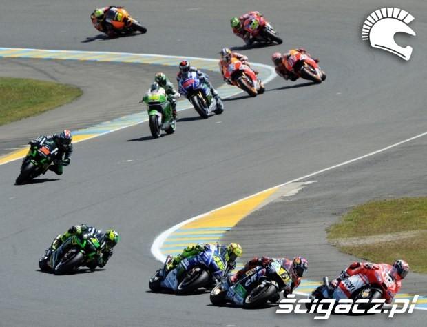 zawodnicy motogp le mans 2014