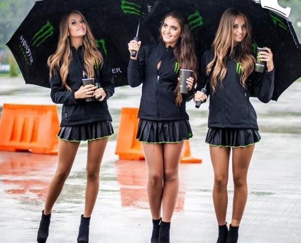 sliczne modelki monster girls