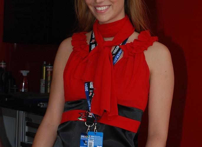 Hostessa na World SBK Imola