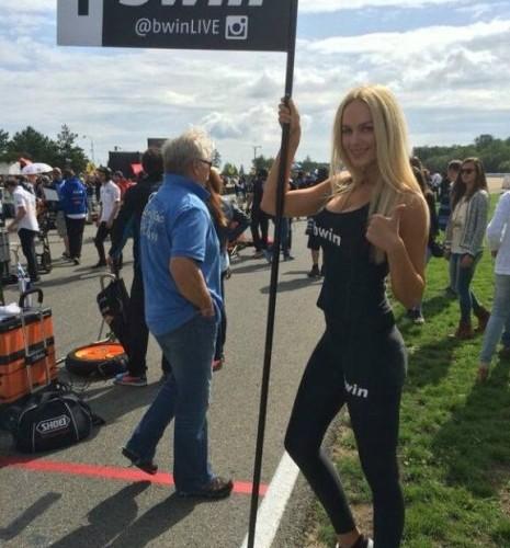 dziewczyna bwin Paddock Girls MotoGP Brno