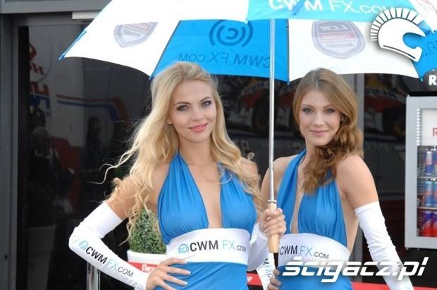 dziewczyny Paddock Girls MotoGP Brno