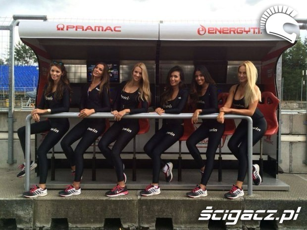 modelki Paddock Girls MotoGP Brno