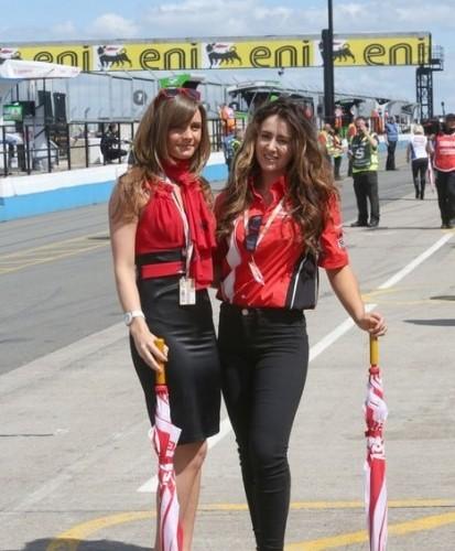 Modelki Ducati Paddock Girls Donington Park