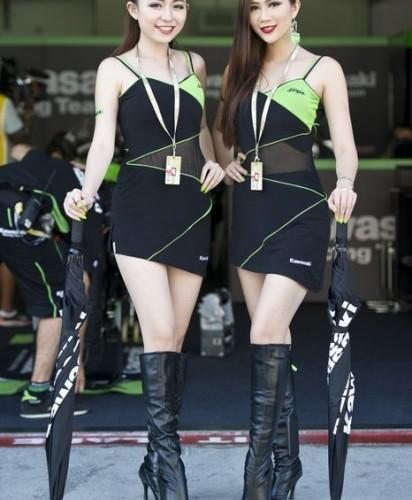 azjatki paddock girls sepang 2014