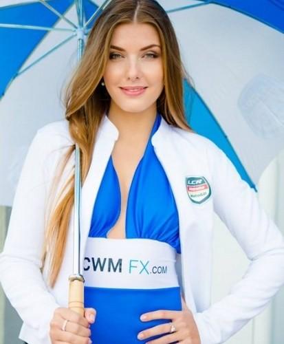 dziewczyna CWM paddock girls silverstone 2014