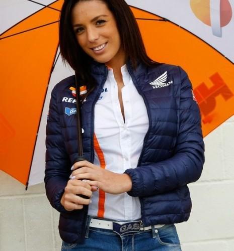 dziewczyna Hondy paddock girls silverstone 2014