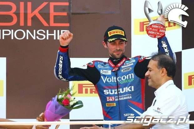 Laverty na podium WSBK Sepang