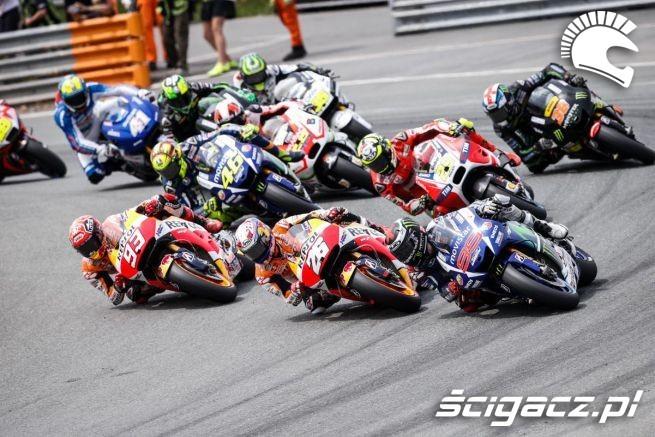 GP Niemiec Sachsenring wyscig start