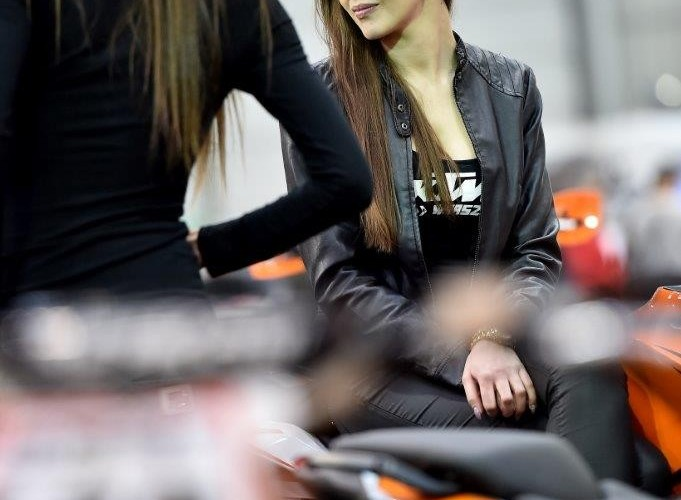 Wystawa motocykli i skuterow 2015 hostessy KTM