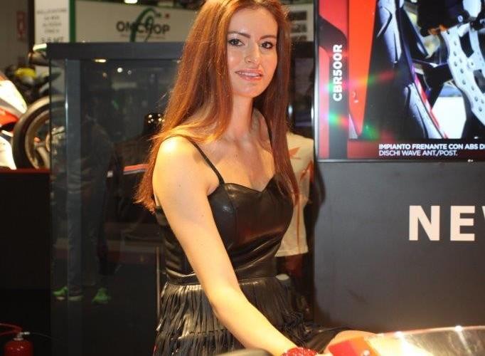 EICMA 2015 Milan hostessy