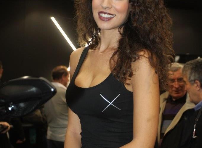 EICMA 2015 Milan hostessy XDiavel