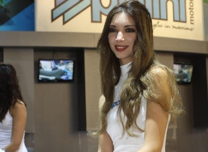 EICMA 2015 Milan hostessy polini