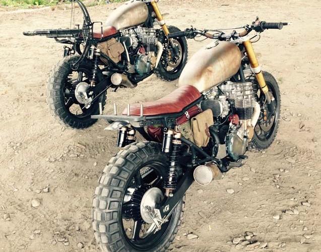 motocykle gotowe do akcji