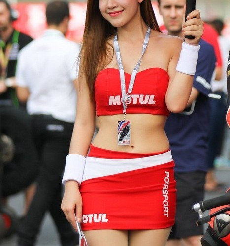 motul hostessa superbike 2016 chang