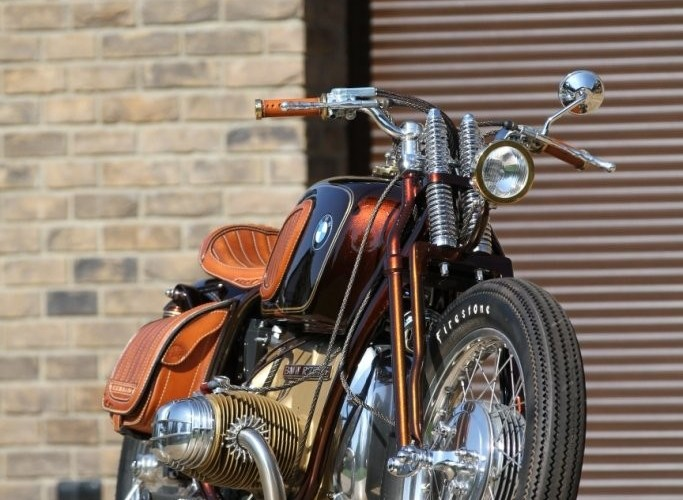 27 BMW R75 Brown Betty