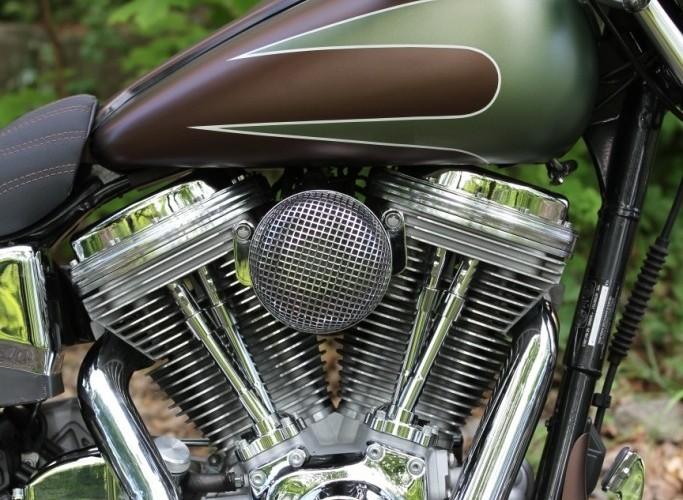 35 Harley Davidson Dyna Super Glide Custom motor