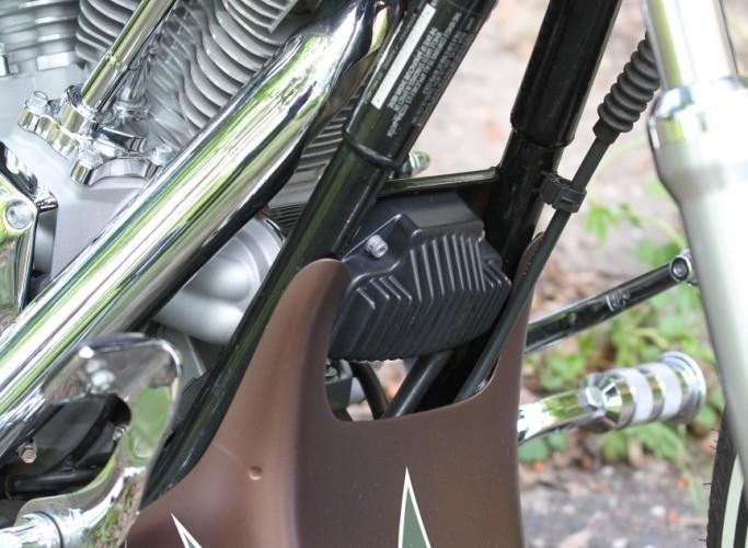 38 Harley Davidson Dyna Super Glide Custom plug