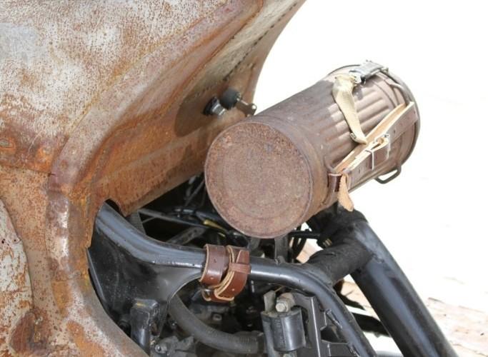 36 Yamaha Ospa JOG 50 RR rat rust scoot custom