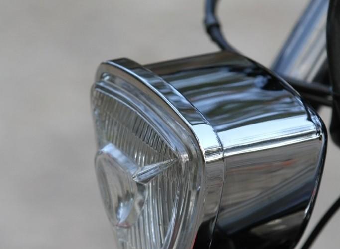 28 Custom Hell Ride Harley Davidson Sportster swiatlo