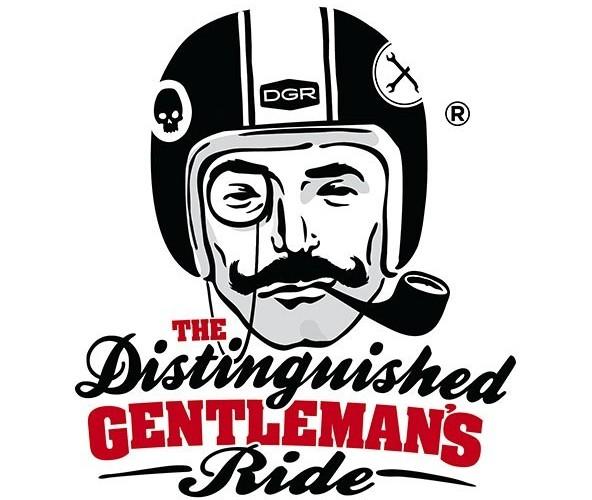 The Distinguished Gentlemans Ride DGR logo