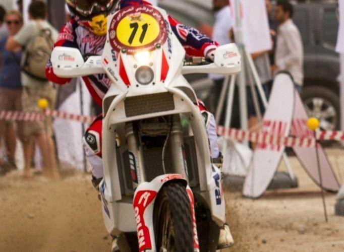 Abu Dhabi Desert Challenge 2012 motocykle
